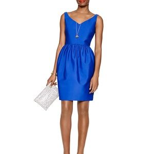 NWT Kate Spade royal blue cocktail dress 6